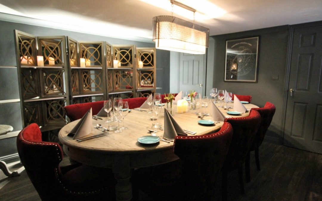 Unveiled – Our New Cosy Comfy Private Dining Room