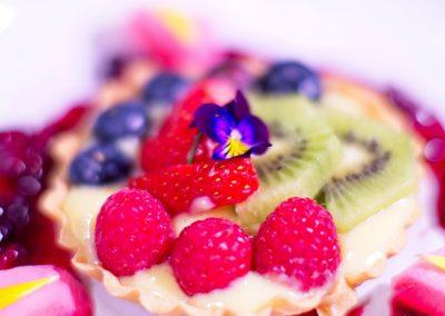 Season fruit tart
