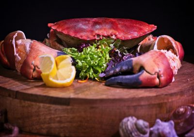 Local sourced shellfish